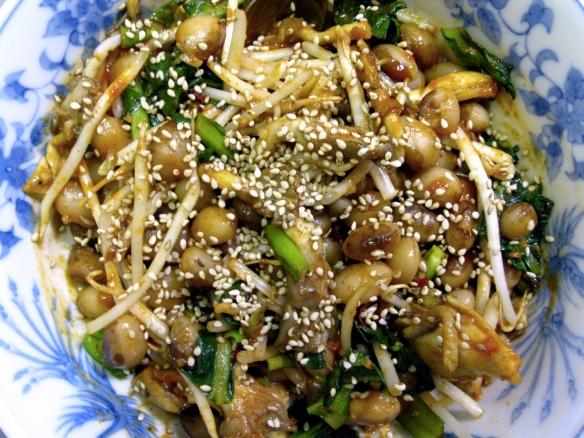 Bibimbap salad