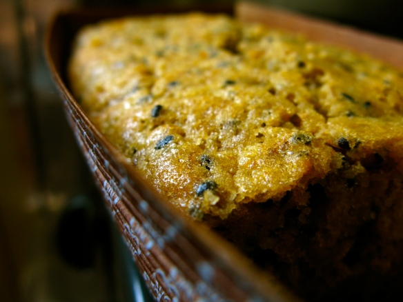 Kinako banana bread