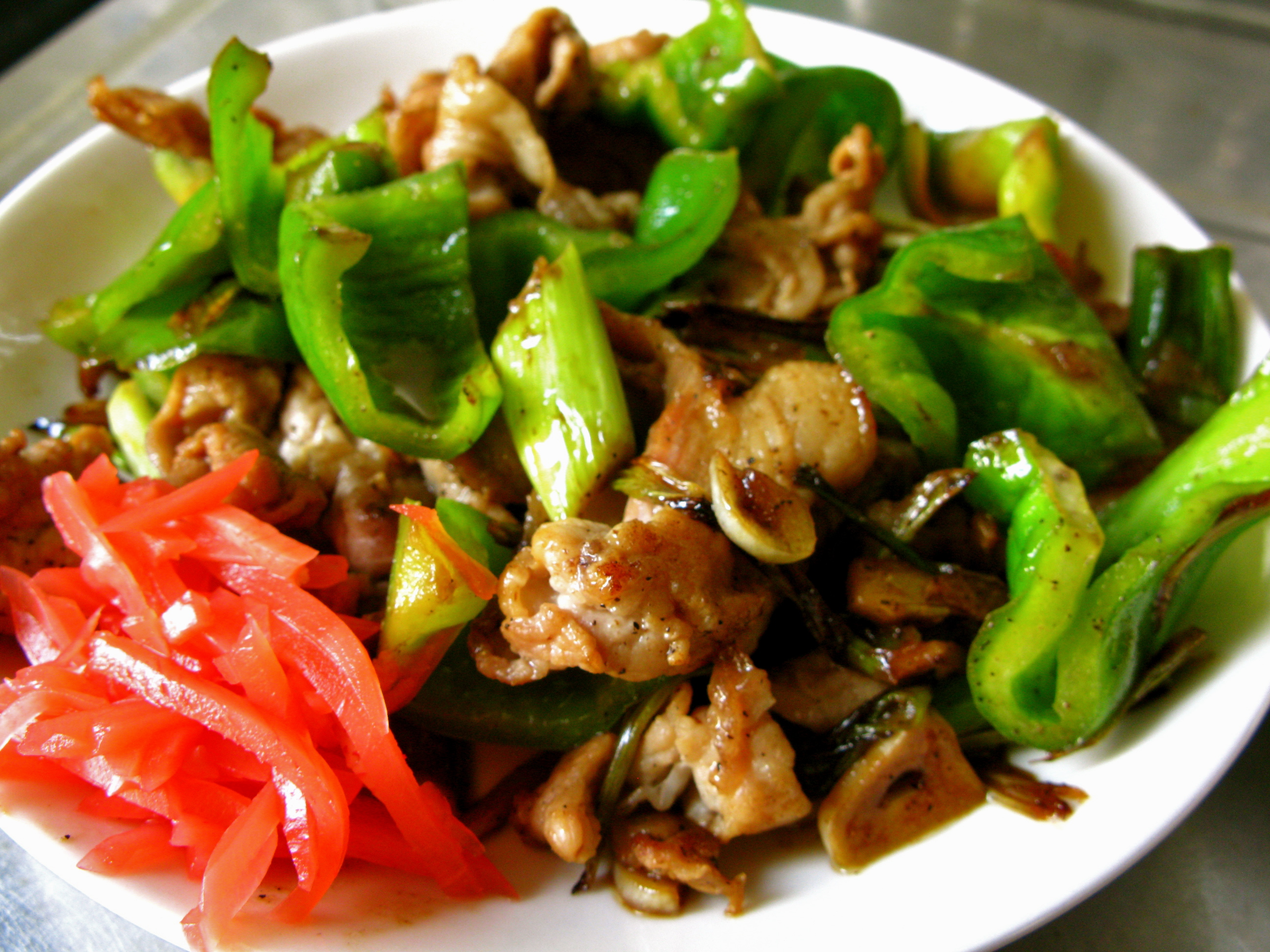 easy ginger pork stir fry sticky pork stir fry hero stir fry pork with ...