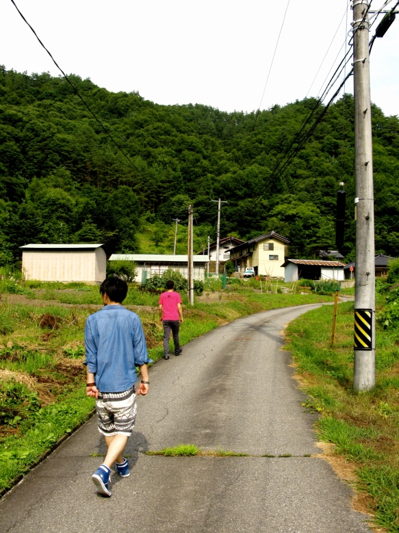 Walking in Nagano