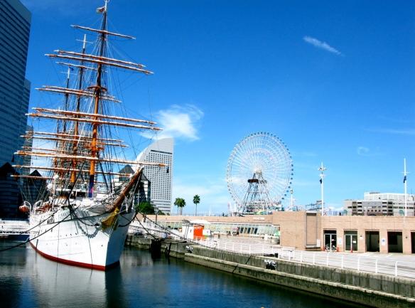 Nippon maru, Yokohama