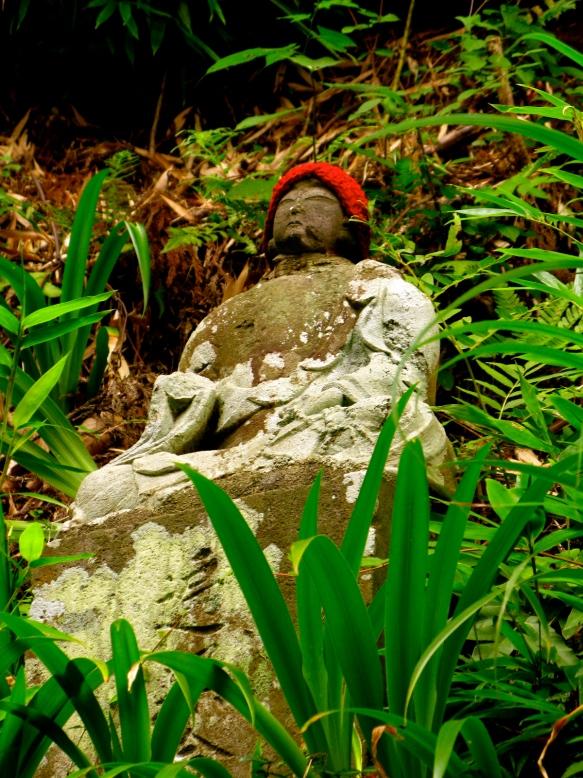 Mt. Takao Jizo statue