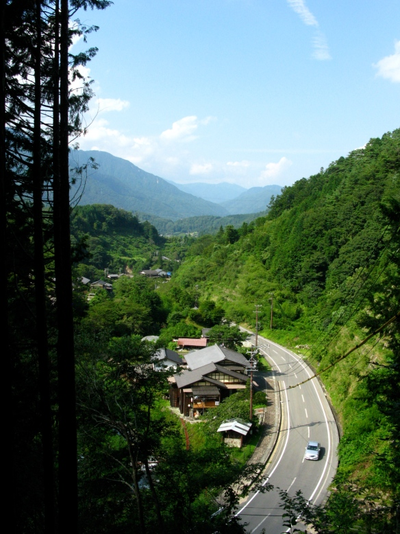 View from Nakasendo