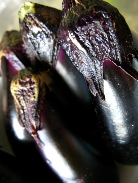 Eggplant for oyaki